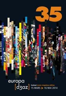 Affiche 2014 festival europa djazz