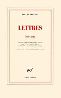 Saluel Beckett correspondance tome 1
