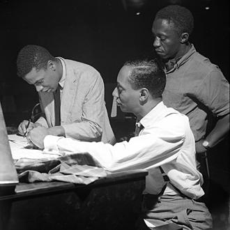 wayne S Jymie Merritt et Blakey 4 août 1960